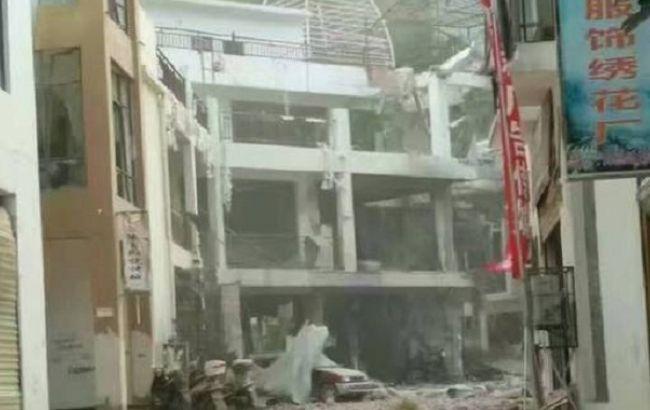 Фото: у поліції не вважають, що вибух у Китаї був терористичною атакою