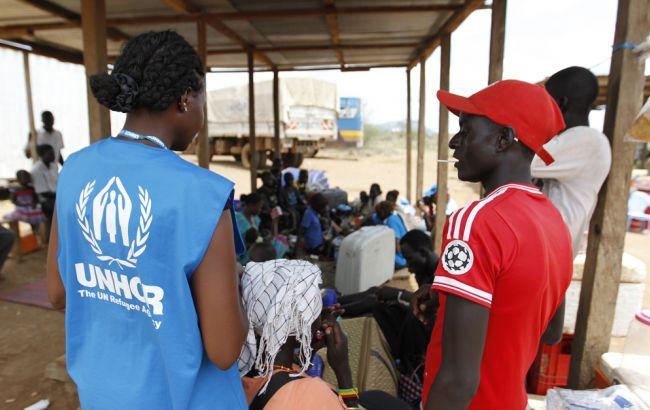 Фото: сотрудники ООН в Судане