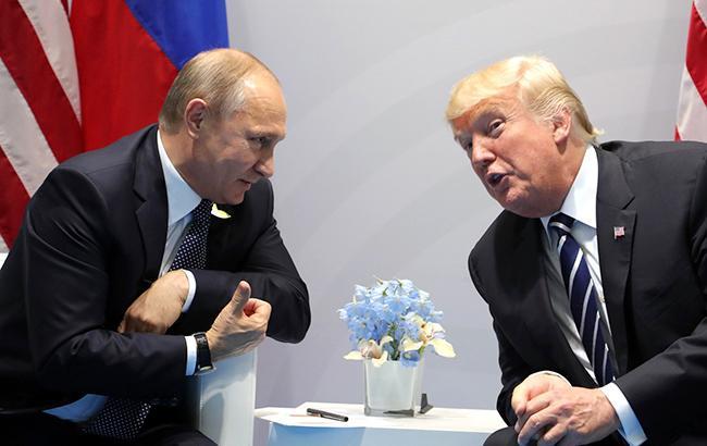 Фото: встреча Владимира Путина и Дональда Трампа (kremlin.ru)