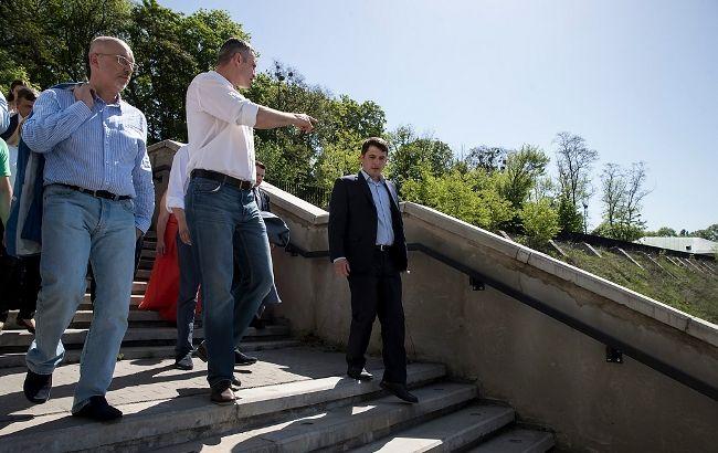 Кличко проінспектував низку локацій, де відбуватимуться заходи до фіналу Ліги чемпіонів УЄФА