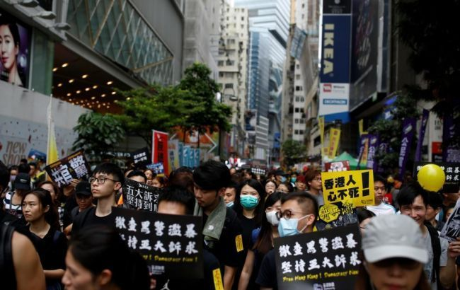У Гонконгу через річницю теракту 11 вересня припинили протести