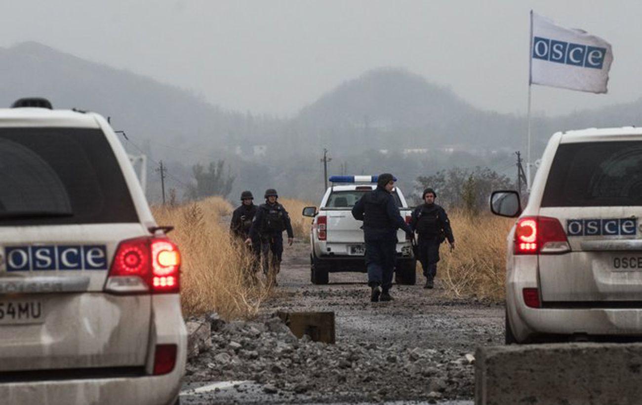 В Донецкой области в результате обстрела пострадали двое гражданских, - ОБСЕ