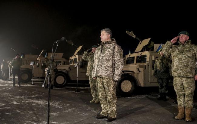 Сянваря увеличатся доплаты солдатам, которые находятся взоне АТО