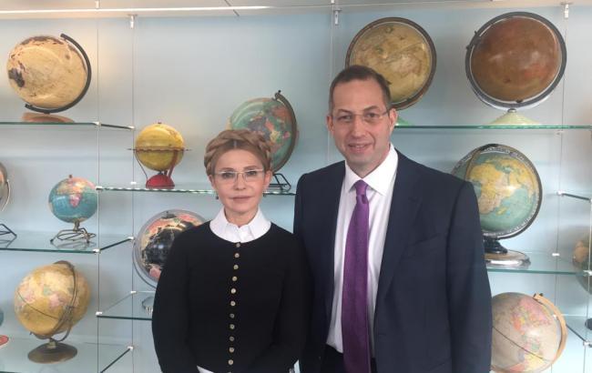 Тимошенко у США зустрілася із президентом NDI