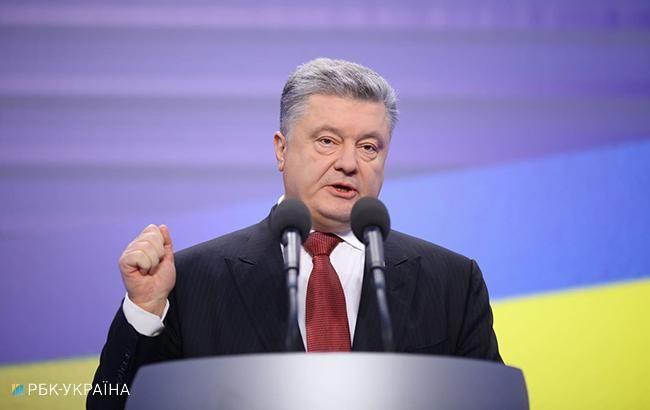 Порошенко: следует продлить санкции против российских банков
