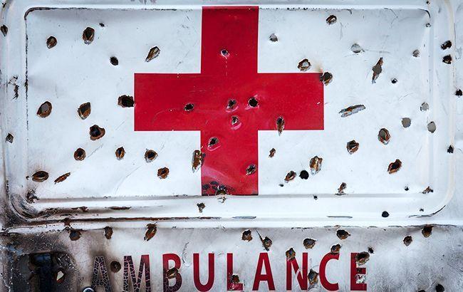В штабе ООС рассказали подробности обстрела санитарного авто