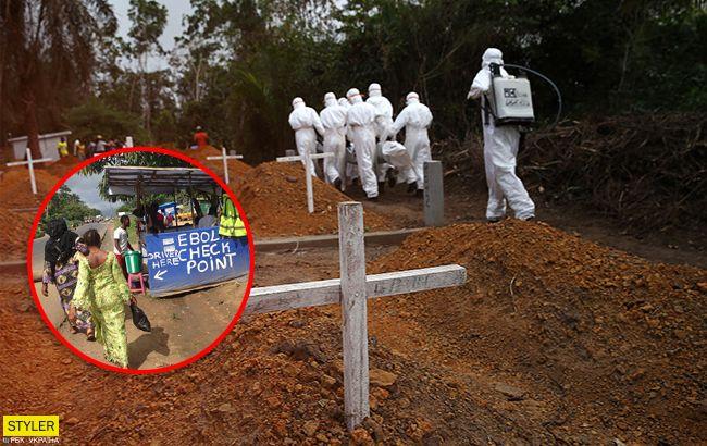 Вірус Ебола: названо шокуюче число жертв за півроку