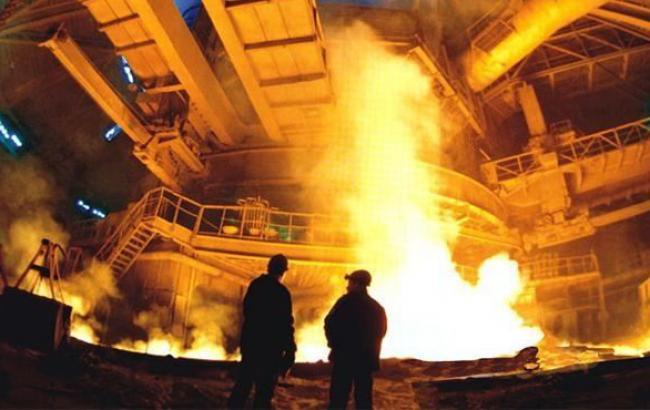 Виробництво сталі в Україні у 2014 р. скоротилося на 16% - до 12,6 млн т, - Держстат