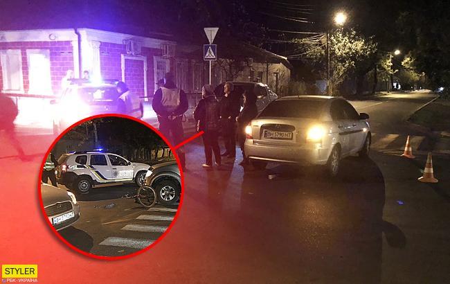 В Ізмаїлі велосипедиста на пішохідному переході збили відразу два автомобіля