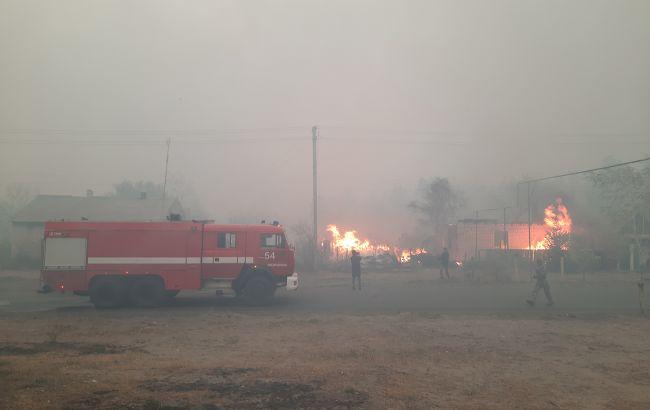 Пожары в Луганской области: полиция назвала число жертв и пропавших без вести