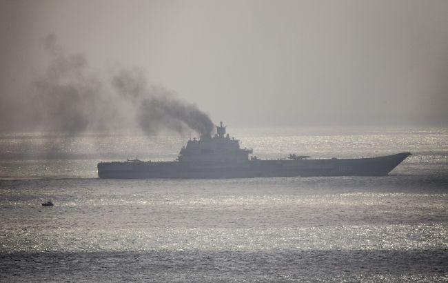 Боевые корабли РФ вышли на учения в Черное море