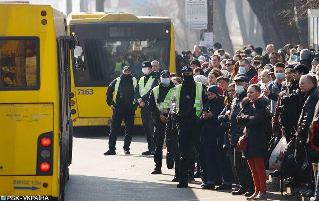Опубликована схема движения пассажирского транспорта в Киеве