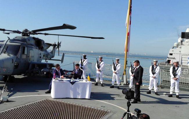 В Одессе на британском эсминце подписали договор: какие возможности он дает Украине