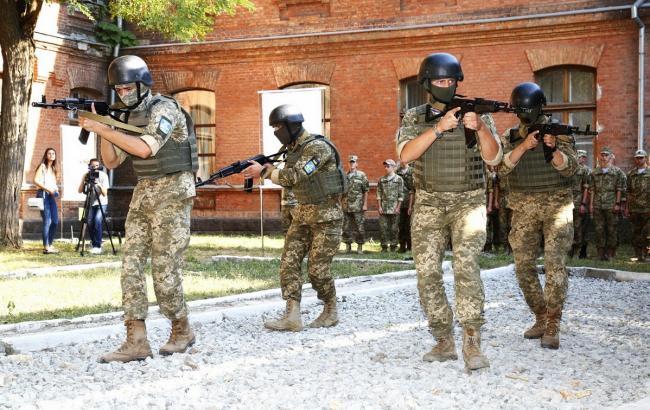 Фото: тренировочный комплекс подготовки разведчиков в Одессе