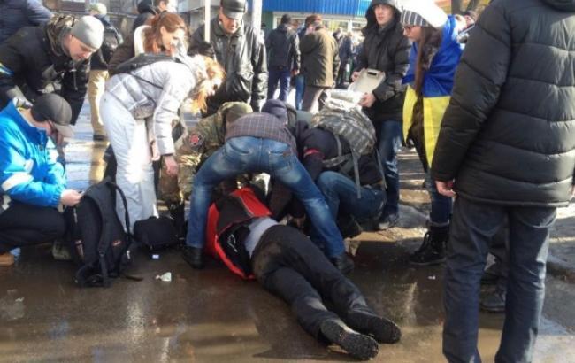 В Харькове после митинга Евромайдана произошел взрыв, погибли 2 человека, - горсовет