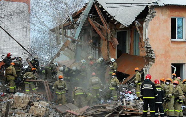 Фото: последствия взрыва газа в Иваново