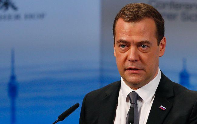 Фото: прем'єр-міністр РФ Дмитро Мєдведєв