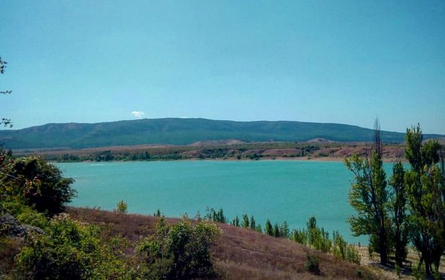 В Крыму на грани высыхания оказались два водохранилища