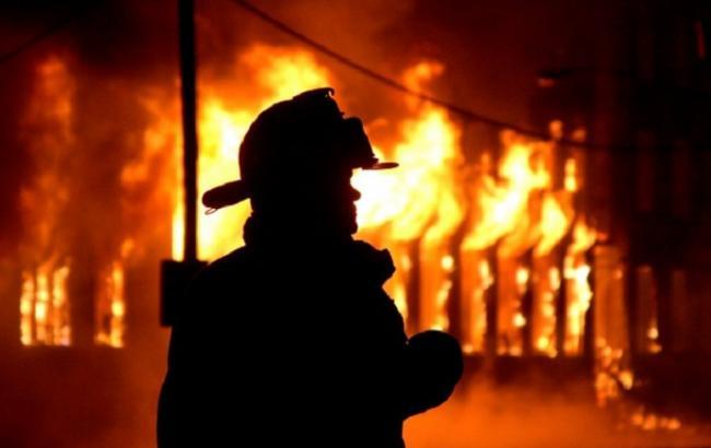 Фото: пожар