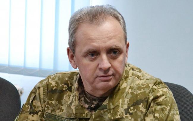 Угроза вторжения России на сегодня самая высокая с 2014, - Муженко