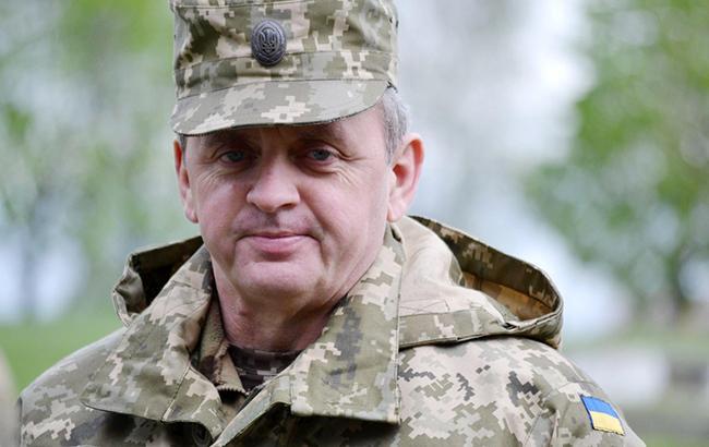 Муженко заявив, що Генштаб вже веде підготовку до введення миротворців на Донбас
