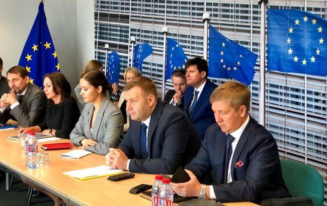 В Брюсселе стартовал новый раунд газовых переговоров