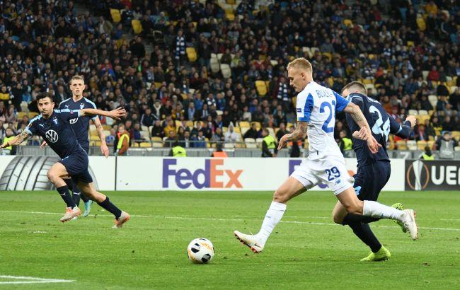 """Два гравці """"Динамо"""" потрапили у сотню найкращих після 1 туру Ліги Європи"""