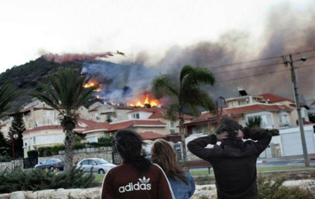 Фото: Пожар в Хайфе (liveinternet.ru)