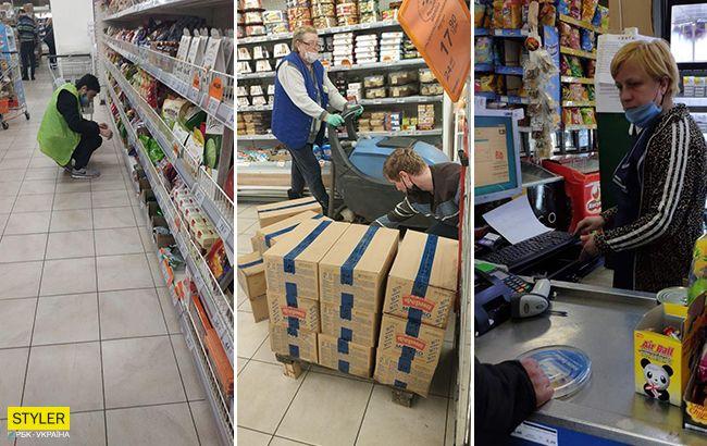 Коронавирус нам не страшен: продавцы продолжают нарушать масочный режим (фото)