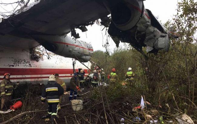 Поліція відкрила справу за фактом аварії літака у Львові