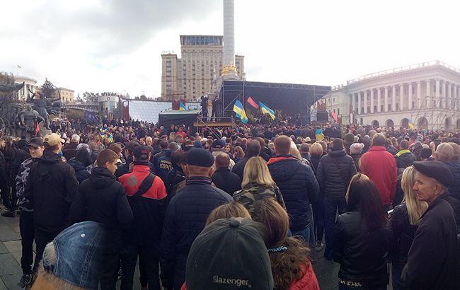 В поліції назвали кількість учасників акції на Майдані