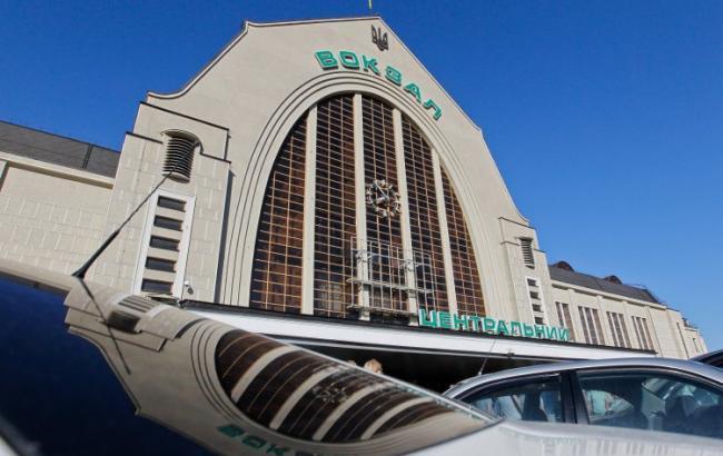 Інформація про мінування залізничного вокзалу у Києві не підтвердилася