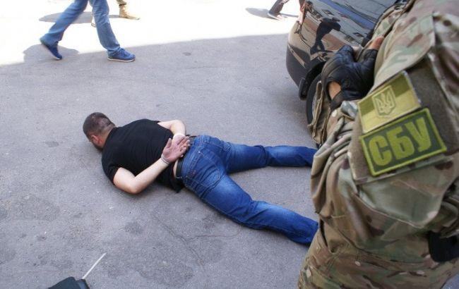 Фото: задержание (СБУ)