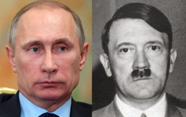 Фото: Путин и Гитлер (24tv.ua)