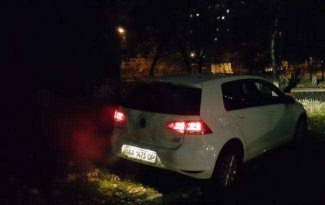 Фото: Автомобиль нарушителя правил парковки (segodnya.ua)