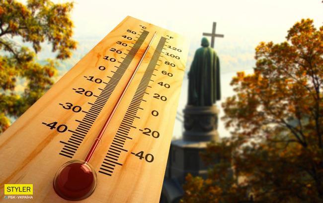 В Киеве зафиксировали первый температурный рекорд осени