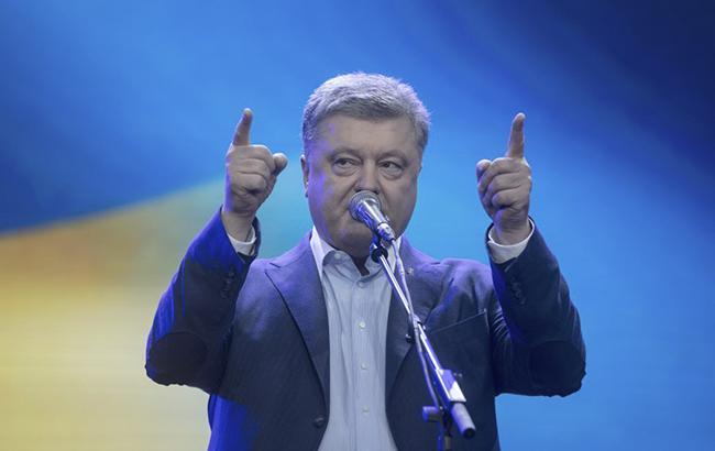 Фото: Петро Порошенко розповів про зброю з США (сайт президента України)