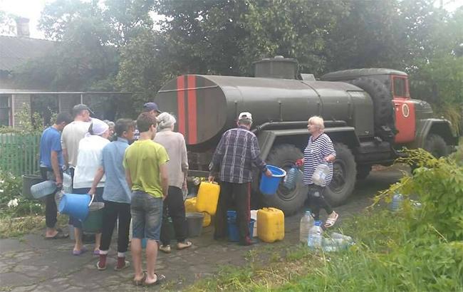 Фото: ситуація в Авдіївці (facebook.com-MNSDon)