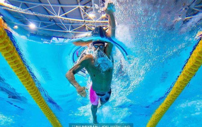 Украинский пловец Романчук выиграл золото с рекордом Кубка мира