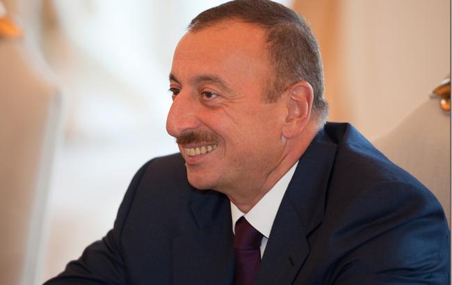 Фото: президент Азербайджана Ильхам Алиев