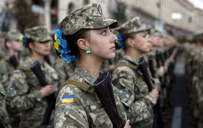 Фото: жінки в лавах ЗСУ