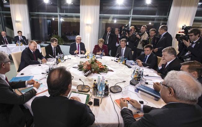 """В Берлине прошел очередной раунд переговоров в """"нормандском"""" формате (Фото УНИАН)"""