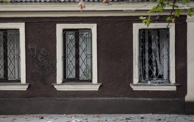 Фото: взрыв в офисе волонтеров (Николаевские вести)