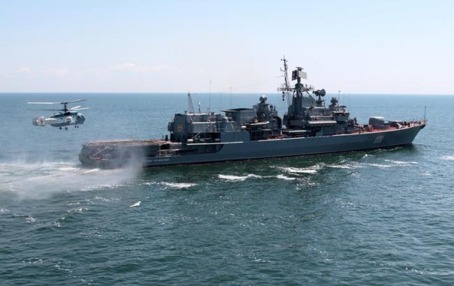У Чорноморську ремонтують найбільший військовий корабель України