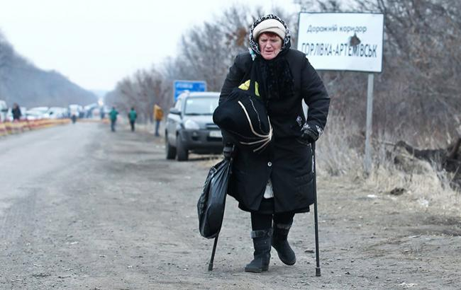 Фото: Пенсионерка (Ратынский Вячеслав / УНИАН)