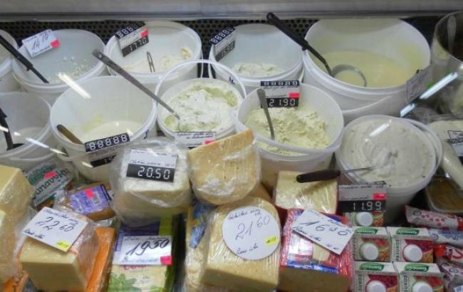 Ринок РФ втратив третину імпортного молока та м'яса й половину рибної продукції після контрсанкцій