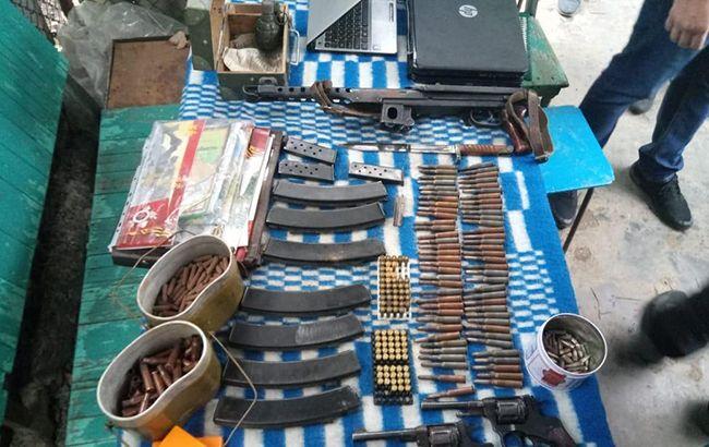 В Одесской области правоохранители изъяли большое количество оружия