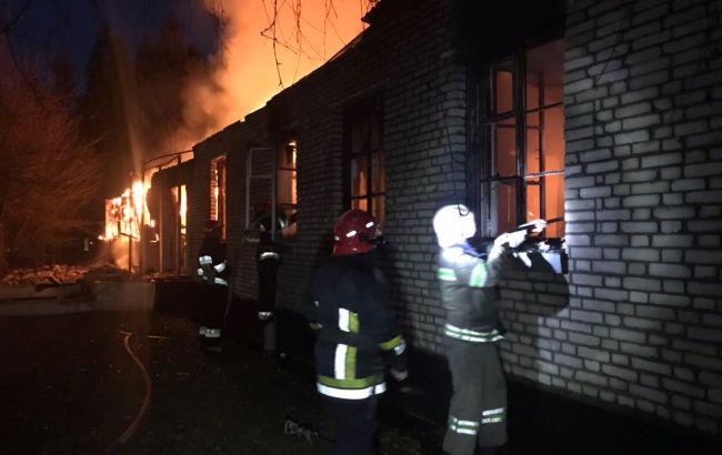ГБР начало расследование из-за пожара в воинской части во Львовской области