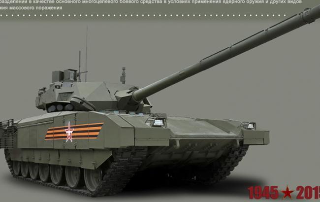 Минобороны РФ опубликовало фото новых образцов военной техники