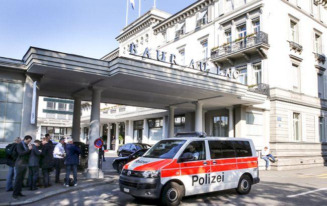 Фото: отель, где проходил арест